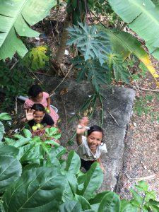 島の子ども達