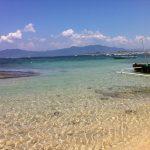 スンバワ島の碧い海
