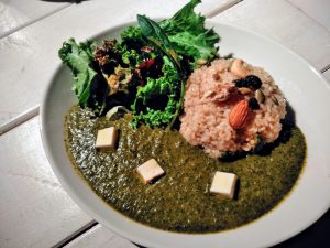 veganグリーンカレー