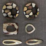 手作りの貝細工