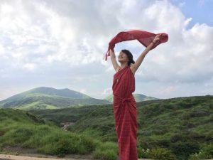 TAKSU AMANATのお洋服を着た女神