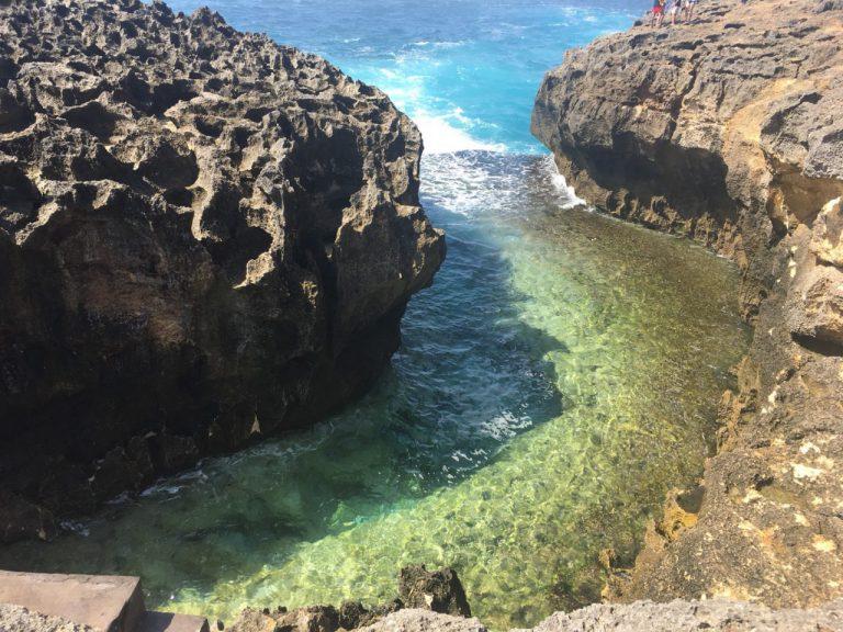 ヌサペニダの海