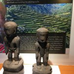 フィリピンの博物館の展示品